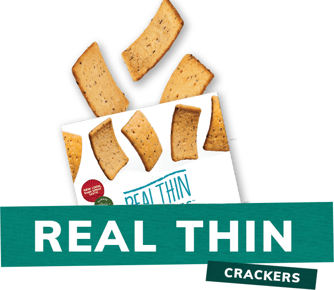 Mary's Gone Crackers REAL Thin Crackers Box